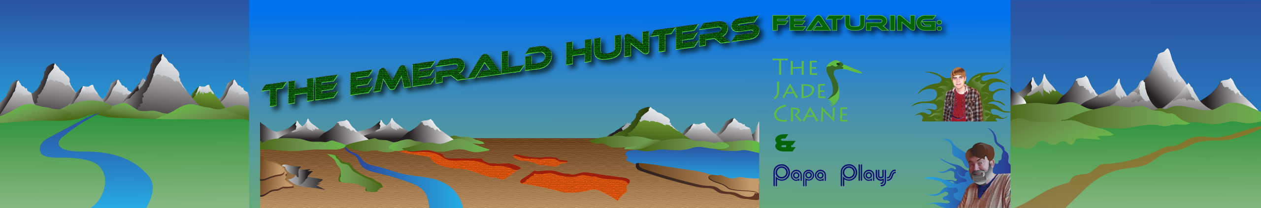 Youtube Videos Banner The Emerald Hunters